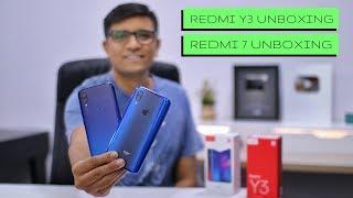 Xiaomi Redmi Y3 & Redmi 7 Unboxing & Overview - PhoneRadar