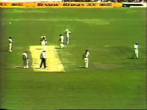 AUS vs WI Third Test (Day 1) 1979/80