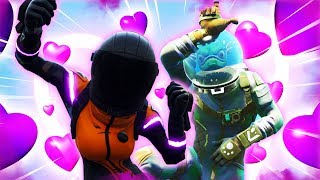 THE SECRET MATING DANCE! -Fortnite ft. Alanzoka