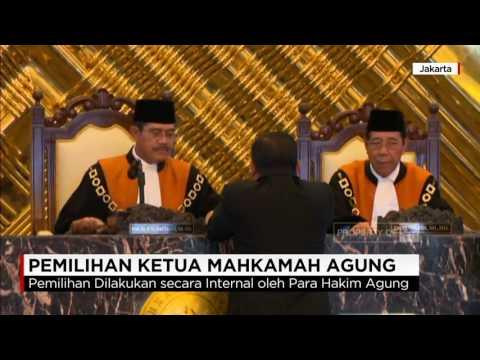 Hatta Ali kembali Terpilih Jadi Ketua Mahkamah Agung