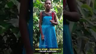 KOSGALLANA DURAGE UDENI HANSIKA  Hiru Star - Season 02   Online Auditions