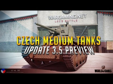 World Of Tanks || Czech Tanks Preview Update 3.5 News!