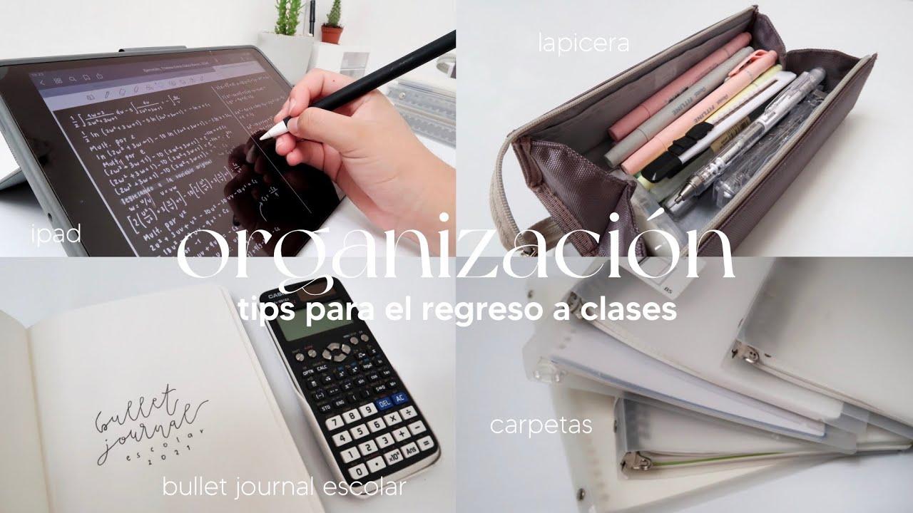 Download Preparación  y organización para un nuevo semestre: carpeta, lapicera, bullet journal y tips
