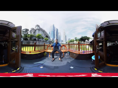 Interactive Tourism Virtual Reality - Unseen Singapore