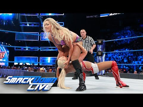Charlotte Flair vs. Lana: SmackDown LIVE, Aug. 8, 2017