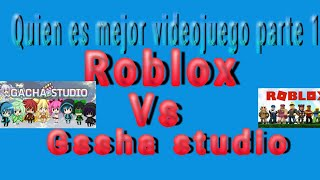 Who is best video game #1 gacha studio vs Roblox