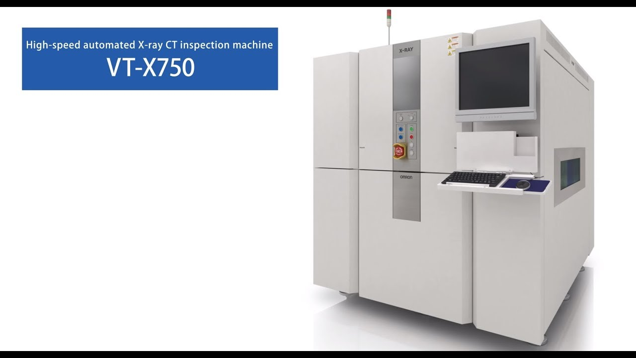 VT-X750 PCB X-Ray inspection machine