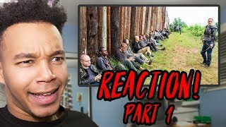 """The Walking Dead Season 8 Episode 6 """"The King, the Widow, and Rick"""" REACTION! (Part 1)"""