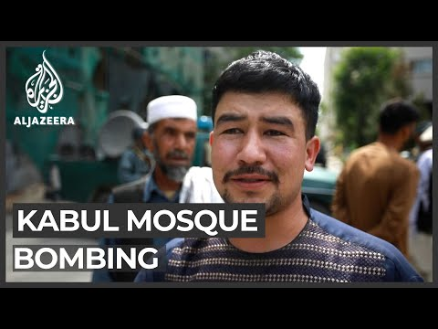 Deadly blast hits Kabul mosque during Friday prayers