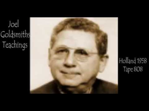 Joel Goldsmith - Holland 1958 Tape 808