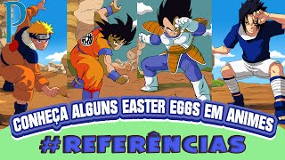 EASTER EGGS EM ANIMES | Player Solo
