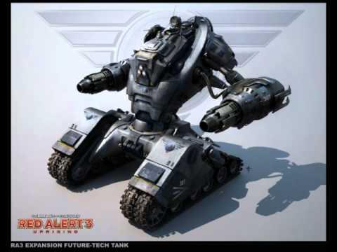 Red Alert 3 Uprising Qoutes: Future tank X-1, Harbinger ... Red Alert 3 Tank
