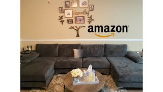 Unboxing A Sofamania Sectional Gray Couch / Amazon Review