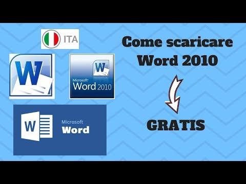 pacchetto office 2010 download gratis italiano per windows 7