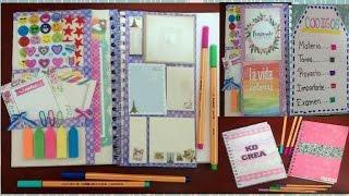 haz tu propia libreta de tareas agenda personalizada ingenio kd