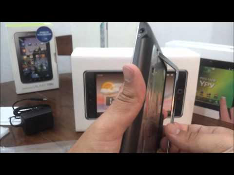 Unboxing Tablet Huawei Ideos S7