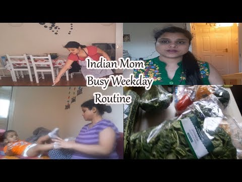 Indian Mom Busy Routine With Baby|| How do i manage my (baby and home )in weekdays -nehascreativity