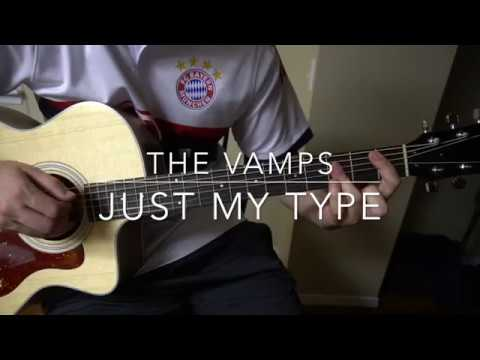 just my type the vamps easy guitar lesson w tabs youtube. Black Bedroom Furniture Sets. Home Design Ideas