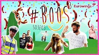 EUROWINGS STEELT 1100 EURO, BELT ZELF POLIZEI, EN #BOOS VALT DUITSLAND BINNEN | #BOOS S03E03