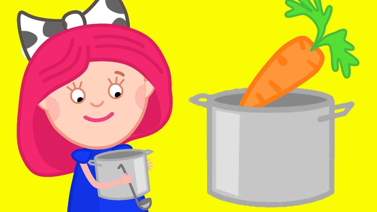 Смарта и чудо сумка - Развивающие мультики - Овощи для супа.