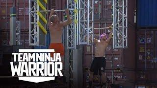 Finals Relay Showdown - Lab Rats vs. Party Time | Team Ninja Warrior | American Ninja Warrior