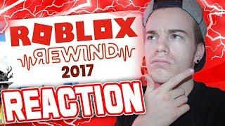 Reagindo a ROBLOX REWIND!! (YouTube Rewind 2017 reação)