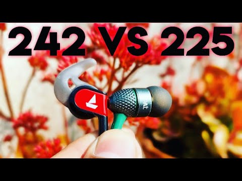Boat Bassheads 242 Unboxing & Comparison with boat 225