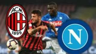 Milan Napoli Maç Özeti