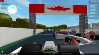 ROBLOX-Formula 1 E-car crash