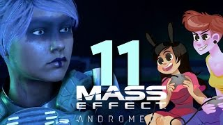 MASS EFFECT ANDROMEDA - 2 GIRLS 1 LET'S PLAY PART 11: VAULT RESET