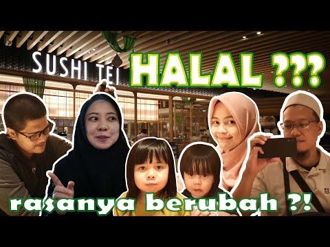 SUSHI TEI SUDAH HALAL??? RASA SUSHINYA BERUBAH ATAU TIDAK ??? REVIEW JUJUR!