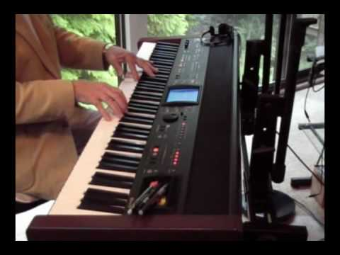 Michael Conway Baker playing - Romantic Fantasia.wmv