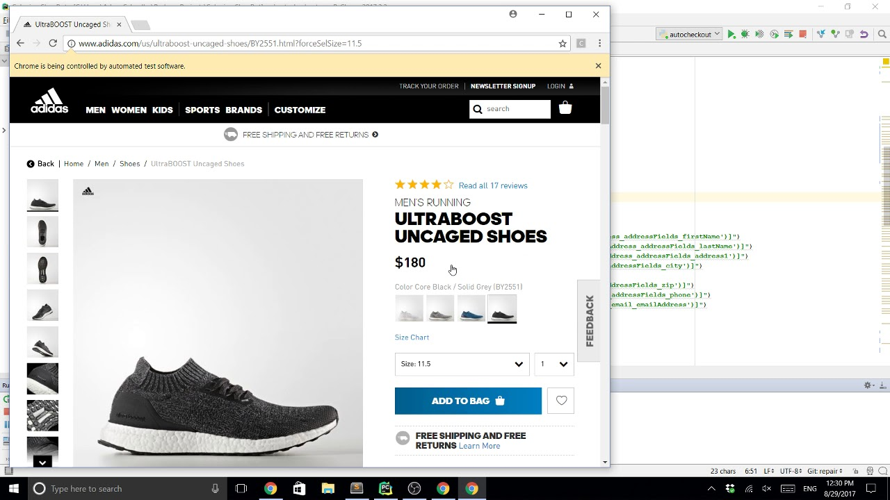 Part 2] Creating a Sneaker Bot in Python Pulling Inventory