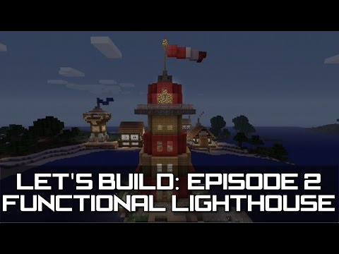 how to build a lighthouse on minecraft on youtube