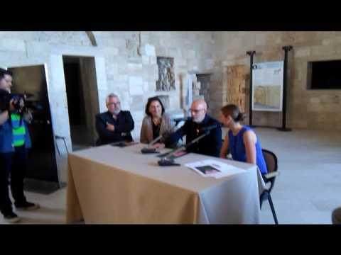 Brian Eno al castello svevo di Trani presenta la sua mostra