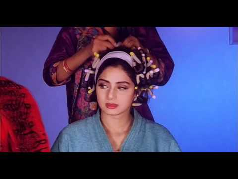 Sridevi getting ready for a show  in Gumrah (1993) HD