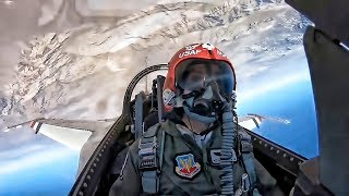 USAF Thunderbird Pilot MACE • Cockpit View G Force Runs