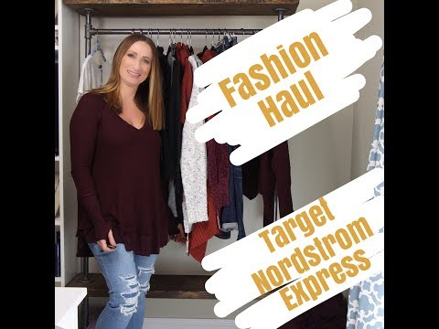 Fashion Haul | Express | Target | Nordstrom | American Eagle | LisaSz09