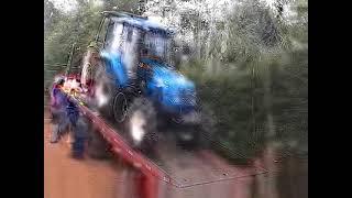 LS Tractor PLUS 80 chegando no Sitio kuhn Joe