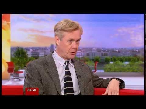 Alex Jennings on BBC Breakfast