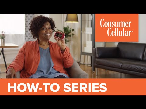 Doro 7050: Sending and Receiving a Text Message (3 of 7) | Consumer Cellular
