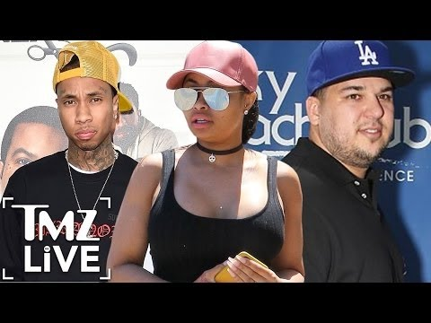 Blac Chyna At War With Tyga And Rob Kardashian | TMZ Live