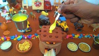 Miniature Sweet Paniyaram | Miniature Cooking | Sweet Paniyaram Recipe | Mini Food