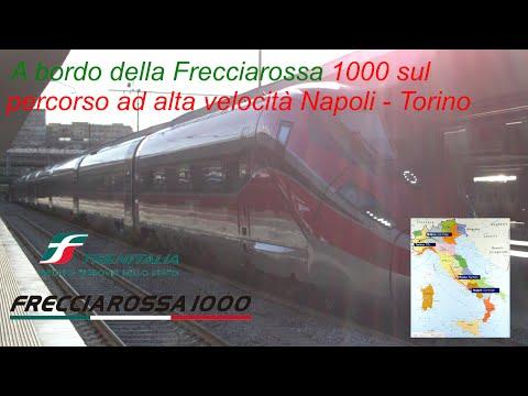 VT#25 - A bordo della Frecciarossa 1000 sul percorso ad alta velocità Napoli - Torino