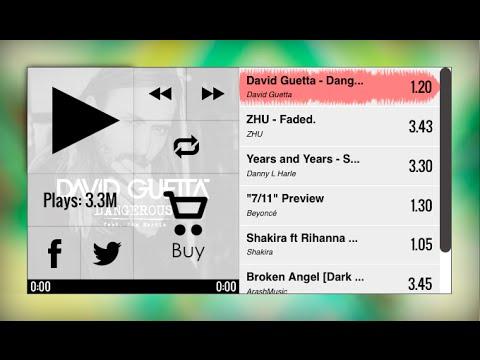DS SoundCloud Music Player