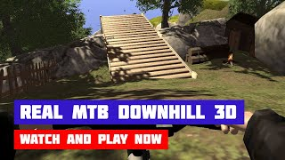 Real MTB Downhill 3D · Game · Gameplay