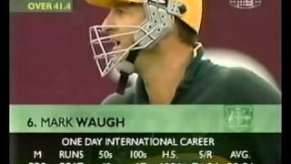 Mark Waugh 173 vs West Indies 2000/01 MCG