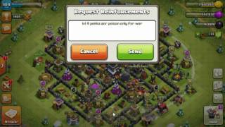 Clash of Clans wrong donation unlimited fun troll video must watch