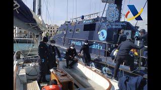 Intervenidas cuatro toneladas de hachís en un velero de bandera neerlandesa