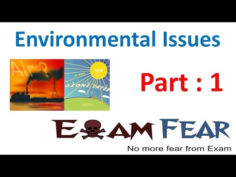 Biology Environmental Issues part 1 (Introduction) class 12 XII